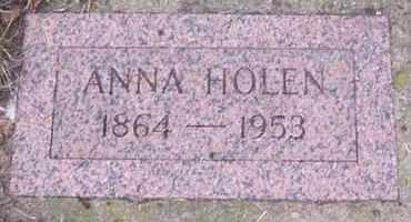 HOLEN, ANNA - Deuel County, South Dakota   ANNA HOLEN - South Dakota Gravestone Photos