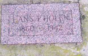 HOLEN, HANS P. - Deuel County, South Dakota   HANS P. HOLEN - South Dakota Gravestone Photos