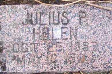 HOLEN, JULIUS P. - Deuel County, South Dakota | JULIUS P. HOLEN - South Dakota Gravestone Photos