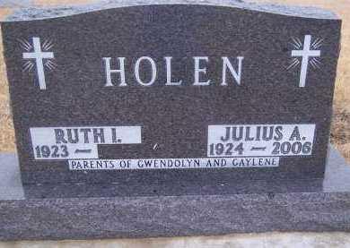 HOLEN, RUTH I. - Deuel County, South Dakota   RUTH I. HOLEN - South Dakota Gravestone Photos