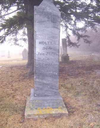 HOLTER, ANNE MARIA - Deuel County, South Dakota | ANNE MARIA HOLTER - South Dakota Gravestone Photos