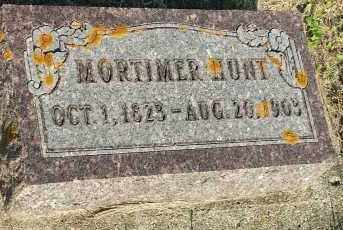 HUNT, MORTIMER - Deuel County, South Dakota   MORTIMER HUNT - South Dakota Gravestone Photos