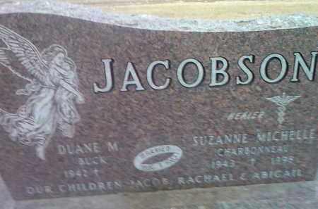 CHARBONNEAU JACOBSON, SUZANNE MICHELLE - Deuel County, South Dakota | SUZANNE MICHELLE CHARBONNEAU JACOBSON - South Dakota Gravestone Photos