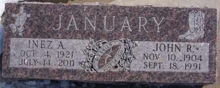 JANUARY, INEZ A - Deuel County, South Dakota   INEZ A JANUARY - South Dakota Gravestone Photos