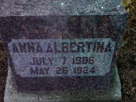 JOHNSON, ANNA ALBERTINA - Deuel County, South Dakota   ANNA ALBERTINA JOHNSON - South Dakota Gravestone Photos
