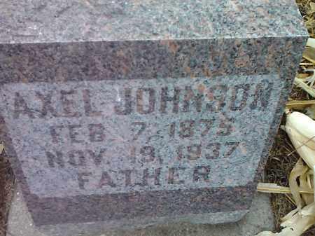 JOHNSON, AXEL - Deuel County, South Dakota   AXEL JOHNSON - South Dakota Gravestone Photos
