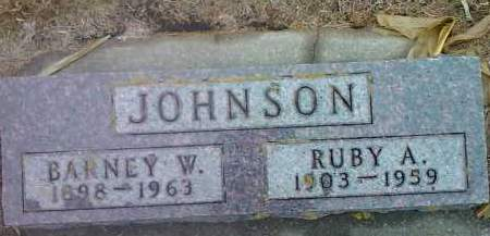 JOHNSON, RUBY A. - Deuel County, South Dakota | RUBY A. JOHNSON - South Dakota Gravestone Photos