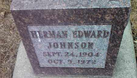 JOHNSON, HERMAN EDWARD - Deuel County, South Dakota   HERMAN EDWARD JOHNSON - South Dakota Gravestone Photos