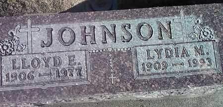 JOHNSON, LLOYD E. - Deuel County, South Dakota | LLOYD E. JOHNSON - South Dakota Gravestone Photos