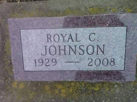 JOHNSON, ROYAL C. - Deuel County, South Dakota | ROYAL C. JOHNSON - South Dakota Gravestone Photos