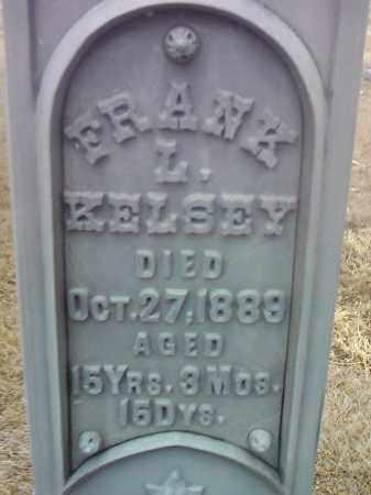 KELSEY, FRANK L. - Deuel County, South Dakota | FRANK L. KELSEY - South Dakota Gravestone Photos