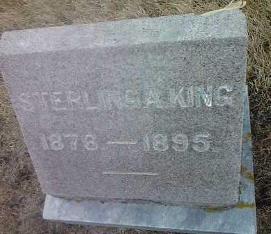 KING, STERLING A - Deuel County, South Dakota | STERLING A KING - South Dakota Gravestone Photos