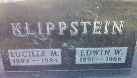 KLIPPSTEIN, LUCILLE M. - Deuel County, South Dakota | LUCILLE M. KLIPPSTEIN - South Dakota Gravestone Photos