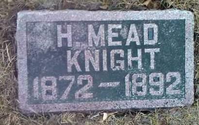 KNIGHT, H. MEAD - Deuel County, South Dakota | H. MEAD KNIGHT - South Dakota Gravestone Photos
