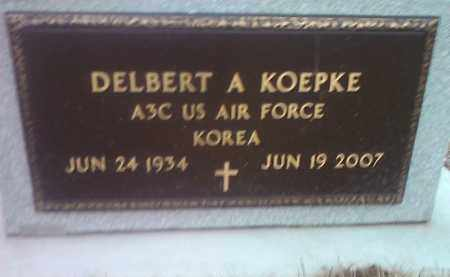 KOEPKE, DELBERT A. (MILITARY) - Deuel County, South Dakota | DELBERT A. (MILITARY) KOEPKE - South Dakota Gravestone Photos