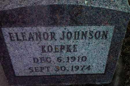 KOEPKE, ELEANOR - Deuel County, South Dakota   ELEANOR KOEPKE - South Dakota Gravestone Photos