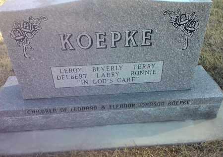KOEPKE, FAMILY STONE - Deuel County, South Dakota | FAMILY STONE KOEPKE - South Dakota Gravestone Photos