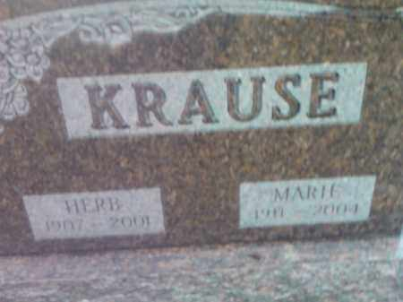 KRAUSE, MARIE - Deuel County, South Dakota | MARIE KRAUSE - South Dakota Gravestone Photos