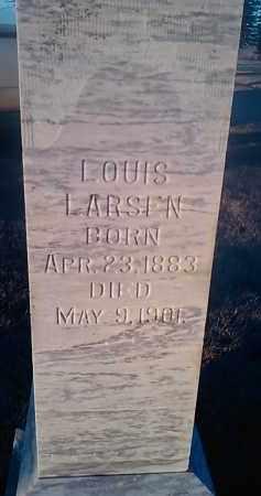 LARSEN, LOUIS - Deuel County, South Dakota | LOUIS LARSEN - South Dakota Gravestone Photos