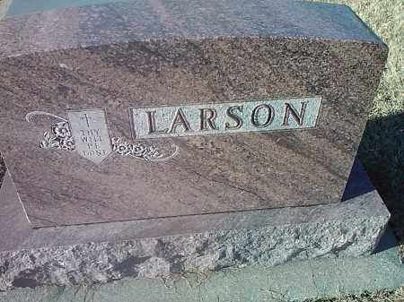 LARSON, FAMILY STONE - Deuel County, South Dakota | FAMILY STONE LARSON - South Dakota Gravestone Photos