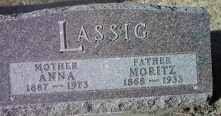 LASSIG, ANNA - Deuel County, South Dakota | ANNA LASSIG - South Dakota Gravestone Photos