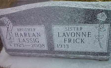 LASSIG, HARLAN - Deuel County, South Dakota   HARLAN LASSIG - South Dakota Gravestone Photos