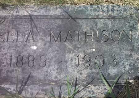 MATHISON, ELLA - Deuel County, South Dakota   ELLA MATHISON - South Dakota Gravestone Photos