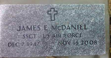 MCDANIEL, JAMES E. (MILITARY) - Deuel County, South Dakota | JAMES E. (MILITARY) MCDANIEL - South Dakota Gravestone Photos