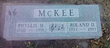 MCKEE, ROLAND D - Deuel County, South Dakota   ROLAND D MCKEE - South Dakota Gravestone Photos