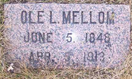 MELLOM, OLE L. - Deuel County, South Dakota | OLE L. MELLOM - South Dakota Gravestone Photos