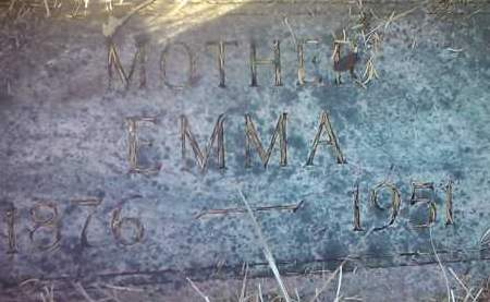 MILLER, EMMA - Deuel County, South Dakota | EMMA MILLER - South Dakota Gravestone Photos