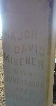 MISENER, MAJOR DAVID - Deuel County, South Dakota | MAJOR DAVID MISENER - South Dakota Gravestone Photos