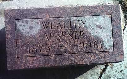MISENER, WEALTHY - Deuel County, South Dakota | WEALTHY MISENER - South Dakota Gravestone Photos
