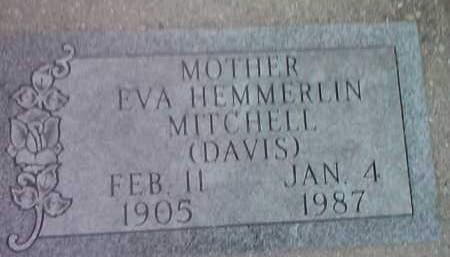 MITCHELL, EVA HEMMERLIN - Deuel County, South Dakota | EVA HEMMERLIN MITCHELL - South Dakota Gravestone Photos