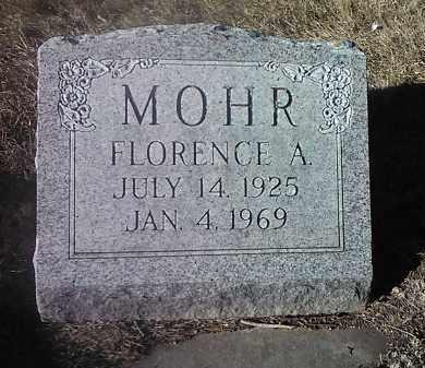 MOHR, FLORENCE A. - Deuel County, South Dakota | FLORENCE A. MOHR - South Dakota Gravestone Photos