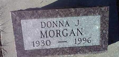 MORGAN, DONNA J. - Deuel County, South Dakota | DONNA J. MORGAN - South Dakota Gravestone Photos