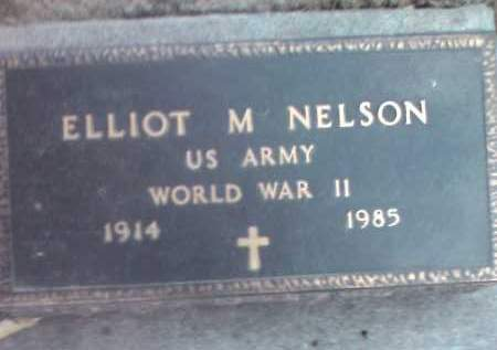 NELSON, ELLIOT M. (MILITARY) - Deuel County, South Dakota | ELLIOT M. (MILITARY) NELSON - South Dakota Gravestone Photos