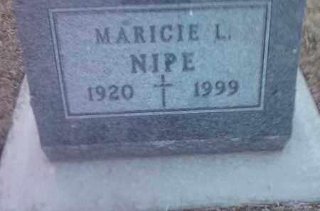 NIPE, MARICIE L. - Deuel County, South Dakota   MARICIE L. NIPE - South Dakota Gravestone Photos