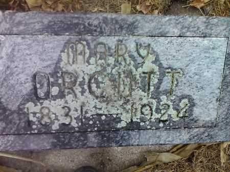 ORCUTT, MARY - Deuel County, South Dakota | MARY ORCUTT - South Dakota Gravestone Photos