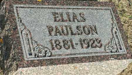 PAULSON, ELIAS - Deuel County, South Dakota | ELIAS PAULSON - South Dakota Gravestone Photos