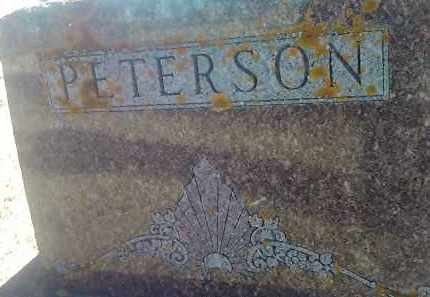 PETERSON, FAMILY STONE - Deuel County, South Dakota   FAMILY STONE PETERSON - South Dakota Gravestone Photos