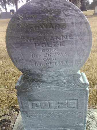 POLZE, EDWARD - Deuel County, South Dakota | EDWARD POLZE - South Dakota Gravestone Photos