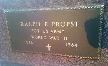 PROPST, RALF E - Deuel County, South Dakota | RALF E PROPST - South Dakota Gravestone Photos