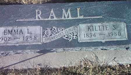 RAML, EMMA L. - Deuel County, South Dakota | EMMA L. RAML - South Dakota Gravestone Photos