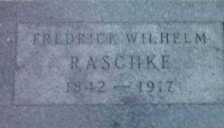 RASCHKE, FREDRICK WILHELM - Deuel County, South Dakota | FREDRICK WILHELM RASCHKE - South Dakota Gravestone Photos