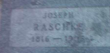 RASCHKE, JOSEPH - Deuel County, South Dakota | JOSEPH RASCHKE - South Dakota Gravestone Photos