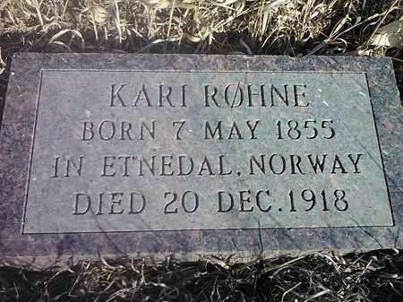 ROHNE, KARI - Deuel County, South Dakota | KARI ROHNE - South Dakota Gravestone Photos