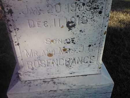 ROSENCRANCE, CLARENCE #2 - Deuel County, South Dakota   CLARENCE #2 ROSENCRANCE - South Dakota Gravestone Photos