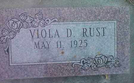 RUST, VIOLA D. - Deuel County, South Dakota | VIOLA D. RUST - South Dakota Gravestone Photos