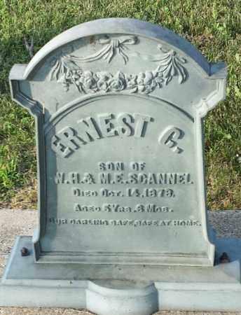 SCANNEL, ERNEST C - Deuel County, South Dakota | ERNEST C SCANNEL - South Dakota Gravestone Photos